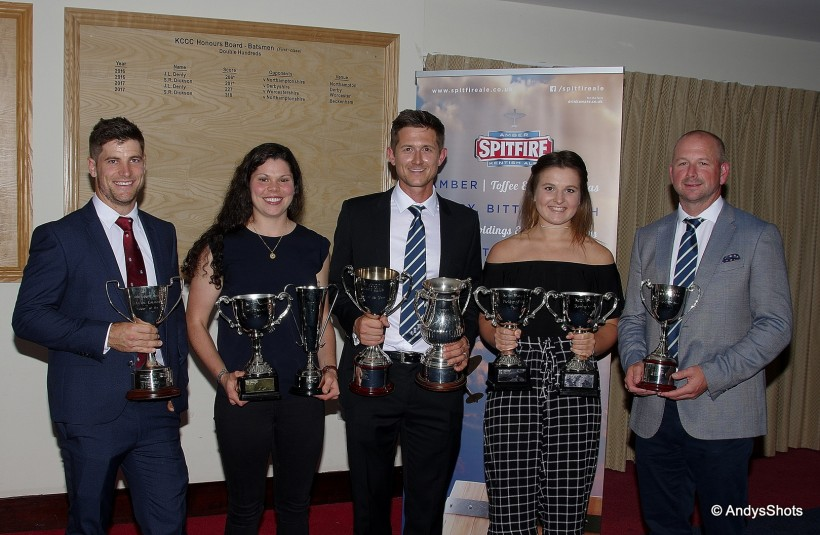 Denly & Davidson-Richards win Players of the Year