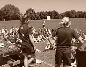 Kent and England Women's cricketers support girls only Street20 competition in Kent