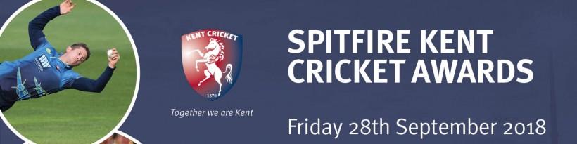 Spitfire Kent Cricket Awards 2018