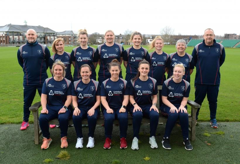 Kent Women win first friendly of the season