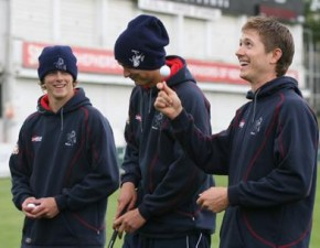 Kent trio to feature on Cricket AM