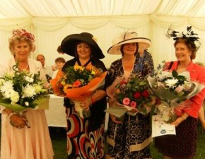 Ladies Day deemed a success with plenty of nice hats on show!