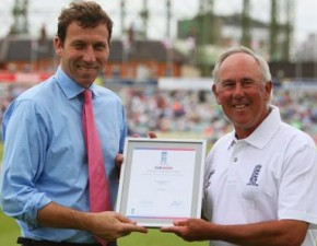 Two Kent coaches are honoured for their loyal dedication