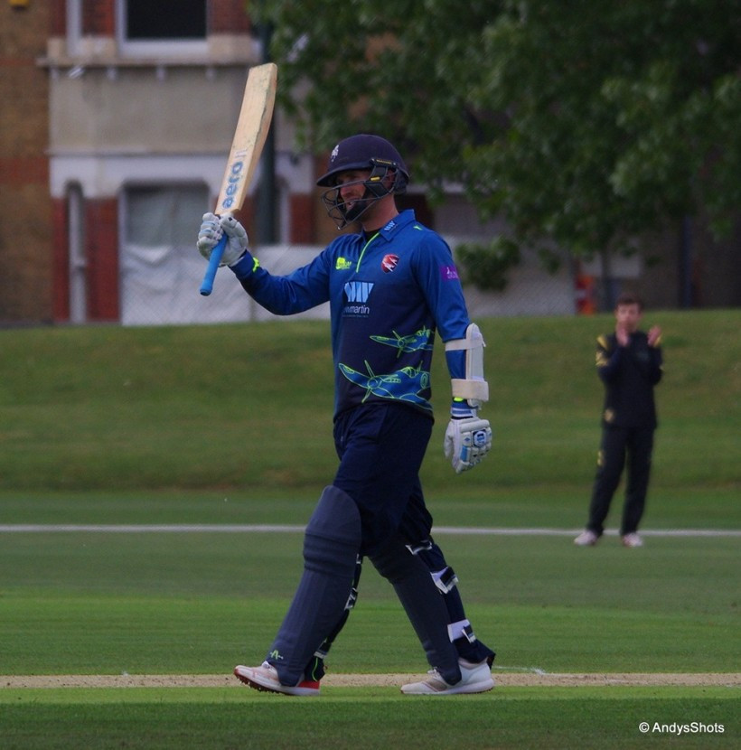 Adam Ball hits century as Second XI beat Chris Gayle Academy XI