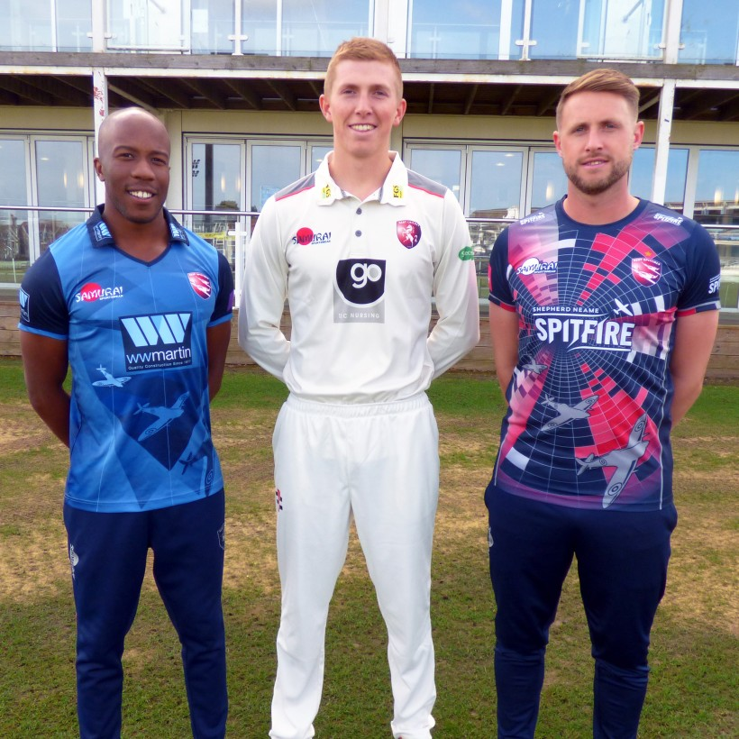 2019 Kent Cricket kits released