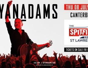 Bryan Adams set to return to rock The Spitfire Ground, Canterbury