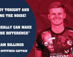 Captain issues rallying cry