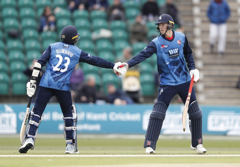 Record partnership seals victory over Essex