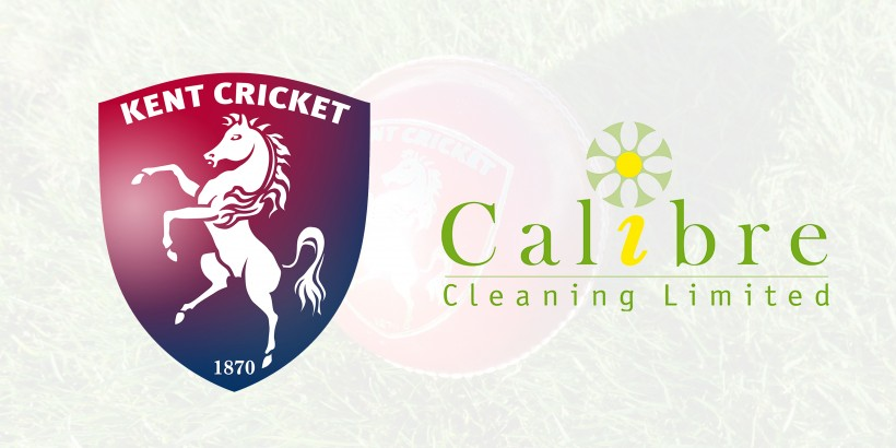 Calibre Cleaning joins forces with Kent Cricket