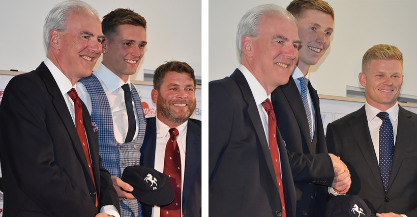 Podmore and Crawley receive County Caps