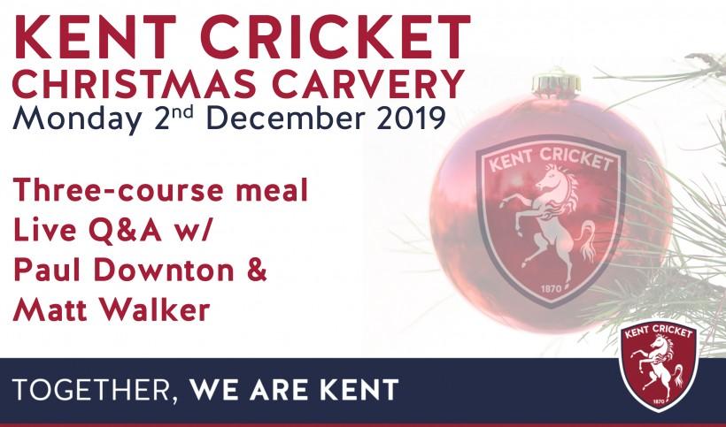 Kent Cricket Christmas Carvery