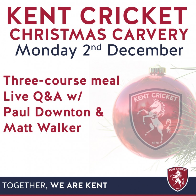 Kent Cricket Christmas Carvery 2019