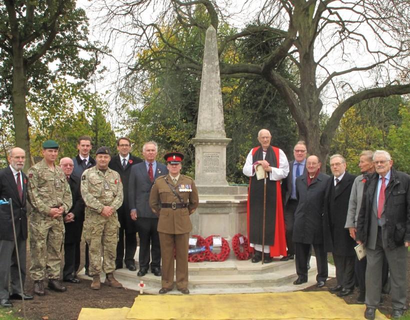 Blythe memorial re-dedicated to mark tragic centenary