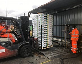 Countystyle Recycling helps to keep London's largest food market operating during the Coronavirus crisis