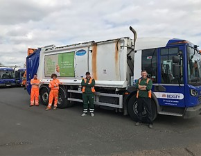 Countrystyle Recycling helps Bexley residents get their waste collected on time