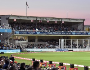 Frank Woolley Stand SOLD OUT for Cricket Week T20s