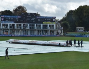 Wet outfield claims Day Three