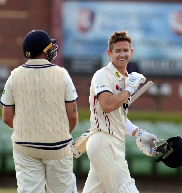 Denly hits century against Sussex at Tunbridge Wells