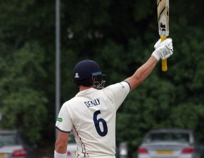 Joe Denly passes 1,000 runs at Beckenham