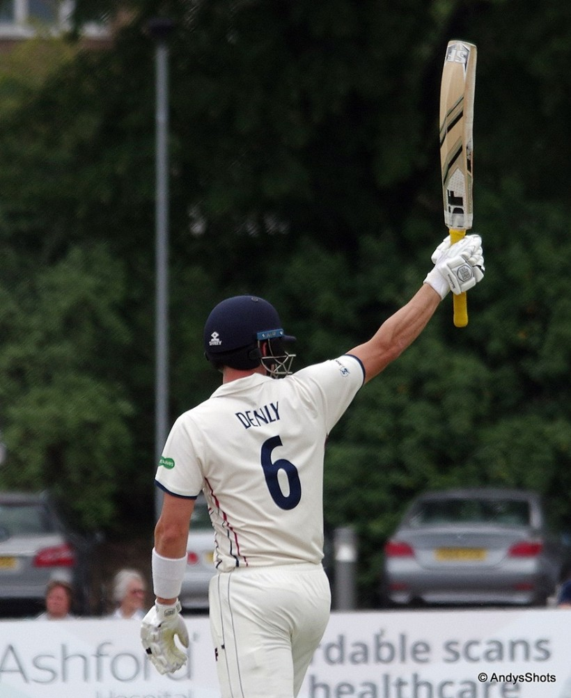 Joe Denly passes 1,000 runs at Beckenham