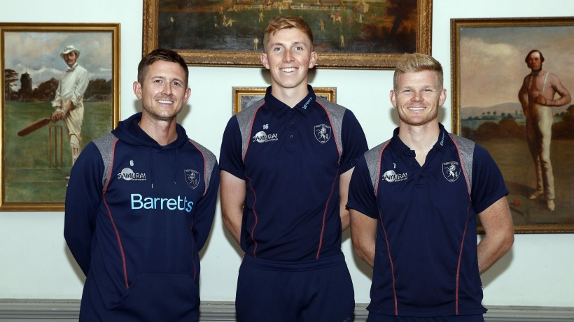 Three Kent stars join England back-to-training group