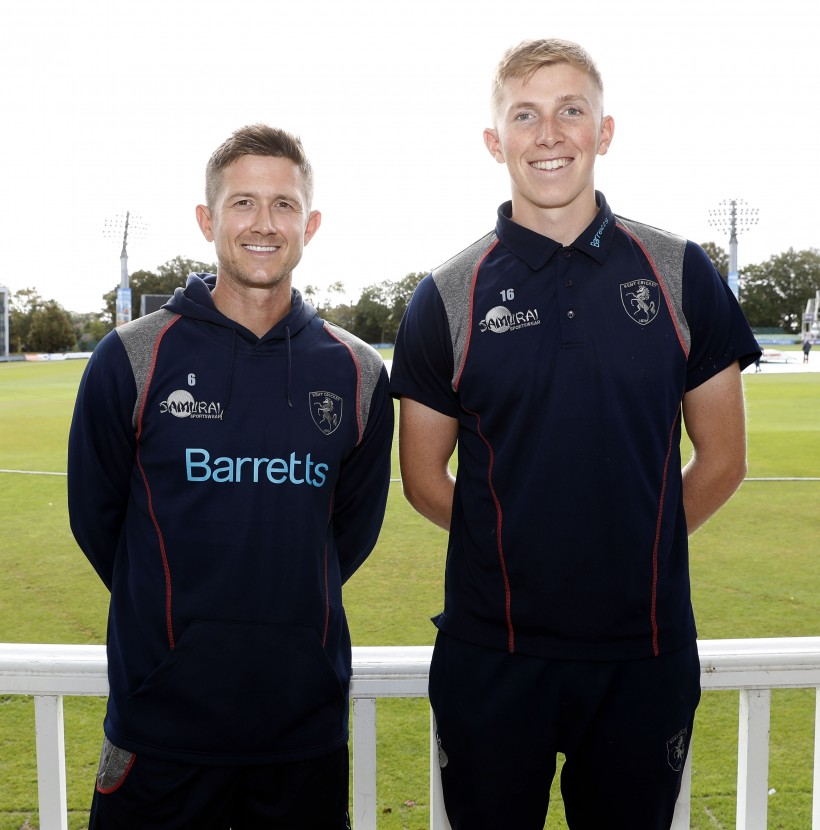 Kent stars and Head Coach included in England's training group
