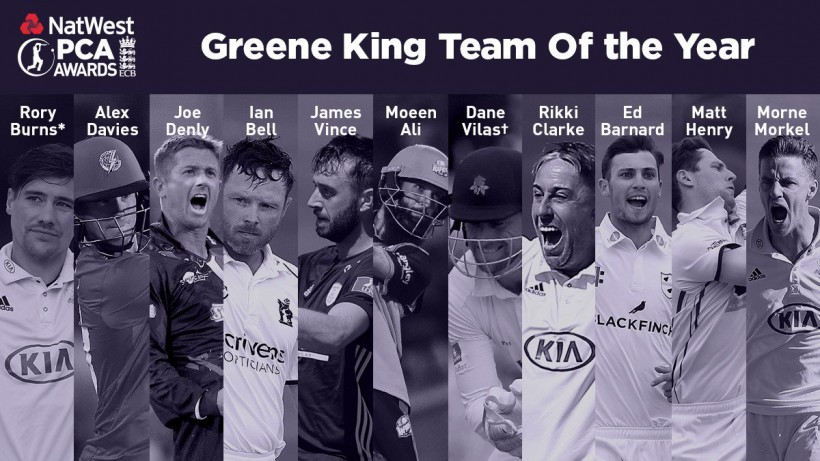 Denly and Henry named in PCA Team of the Year