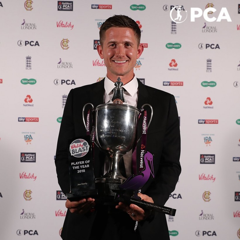 Denly named PCA Players' Player of the Year