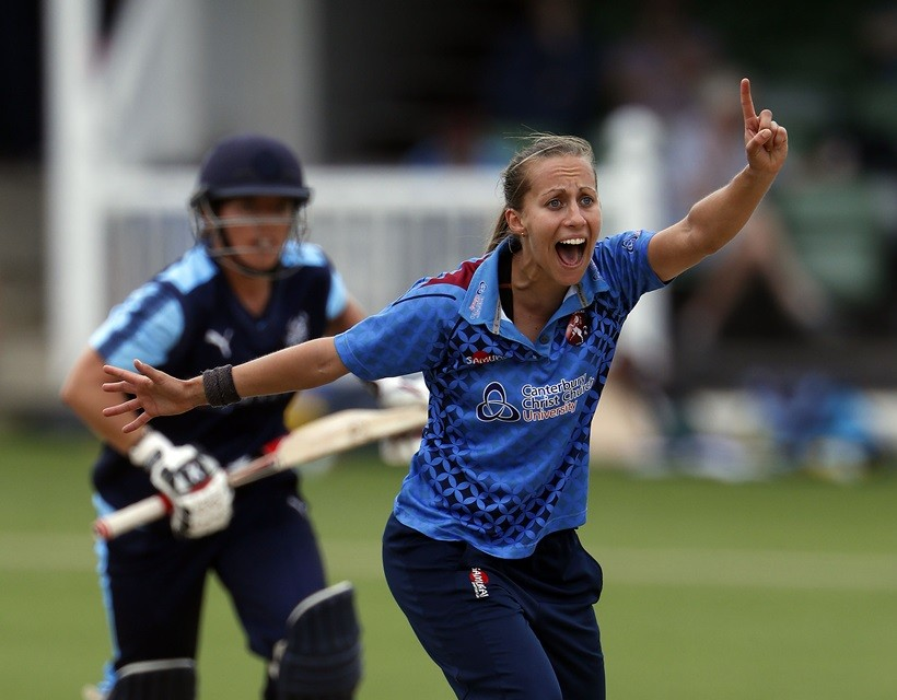 Women finish third in County Championship