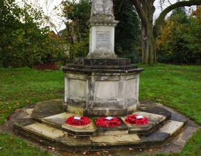 Club remembers the fallen on Armistice Day