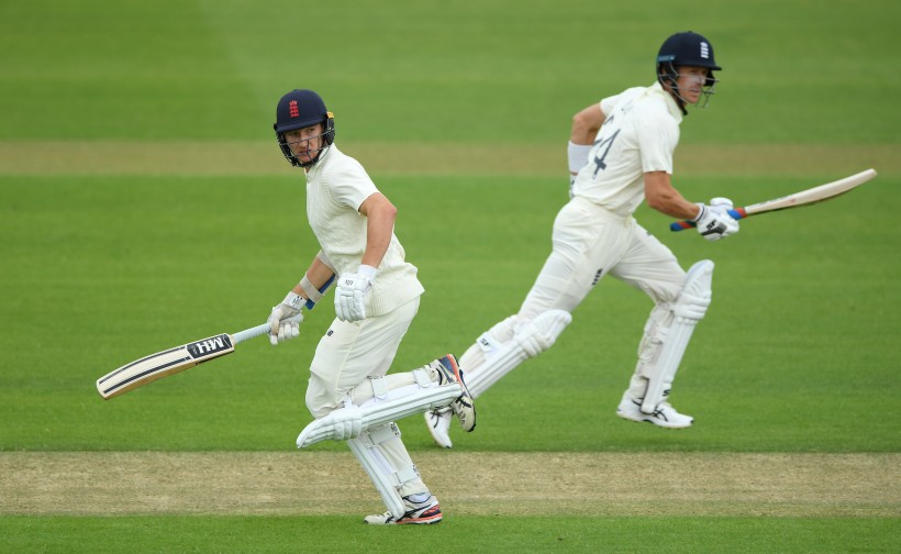 Kent stars in action for England's intra-squad match