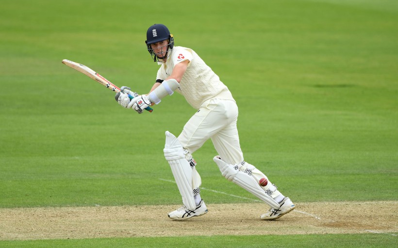 Zak Crawley top scores on day 2 of England's intra-squad match