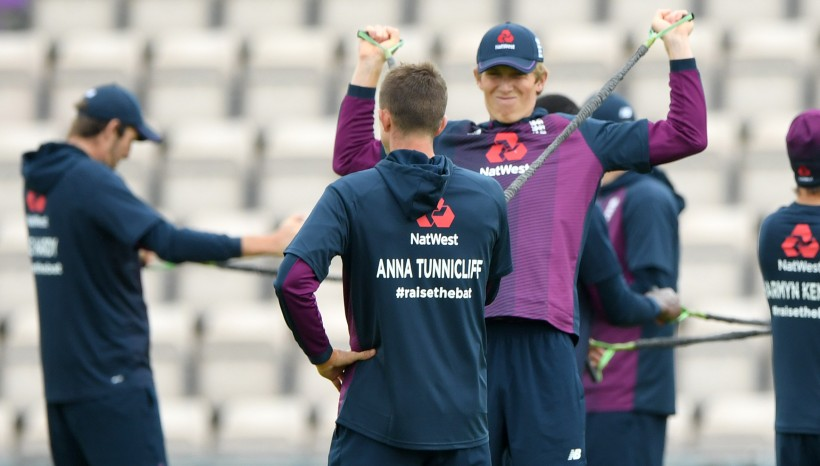 Local heroes honoured on England Test warm-up shirts