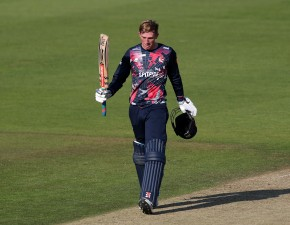Crawley ton helps Kent cruise past Hampshire