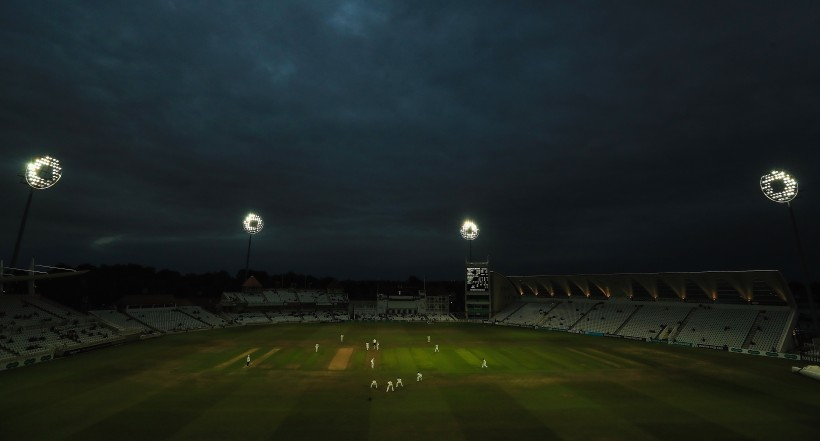 Milne hits 50 as Kent salvage draw in Trent Bridge day-nighter