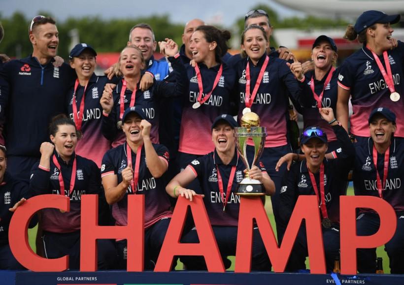 Women's World Cup trophy at Beckenham