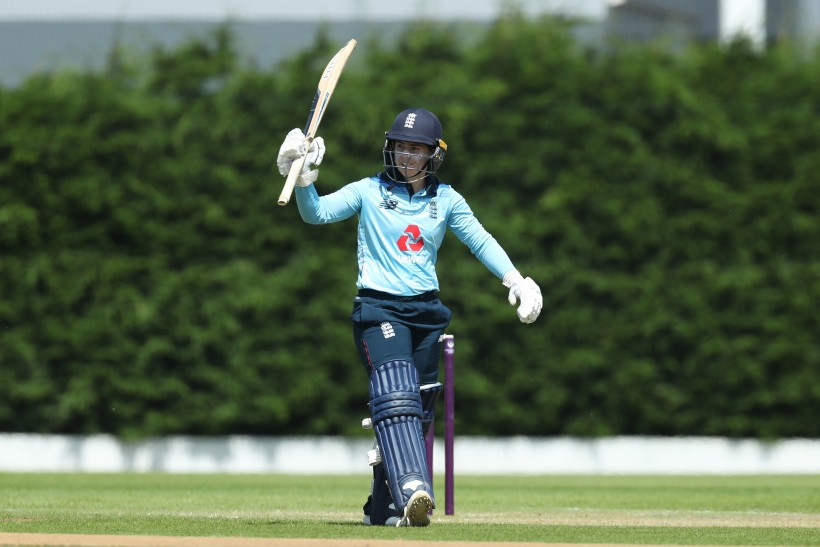 Beaumont ton helps England to victory