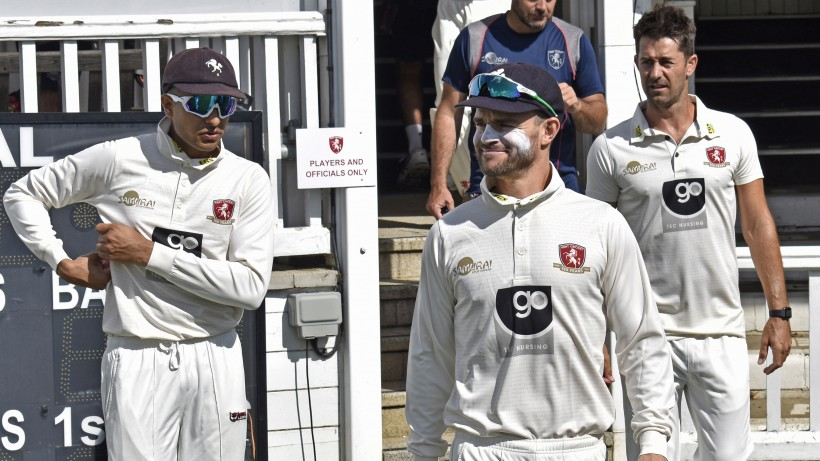 High-flying Heino gives Kent advantage on Day One