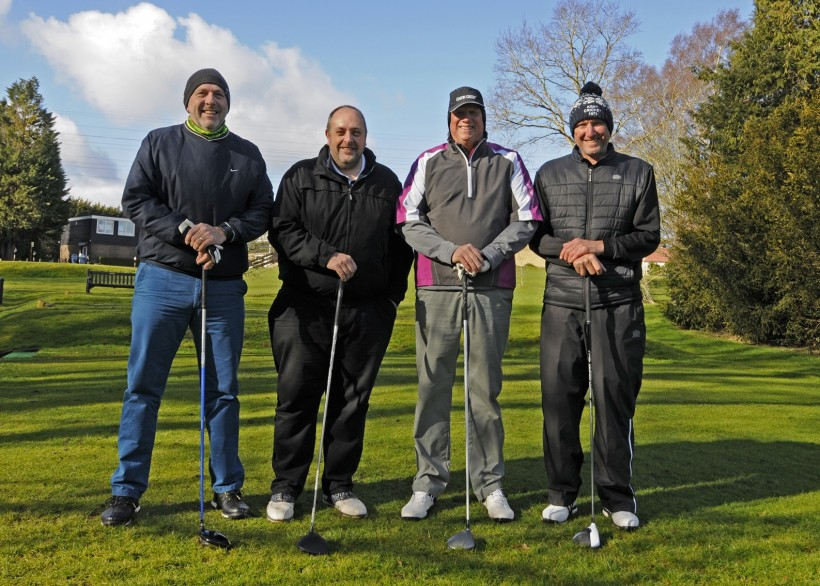 Players help raise £6,000 at Golf Day