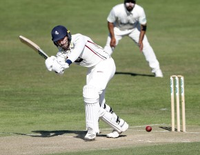 Stewart shines with bat and ball for Second XI