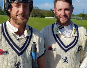 Blake and Haggett stand secures draw