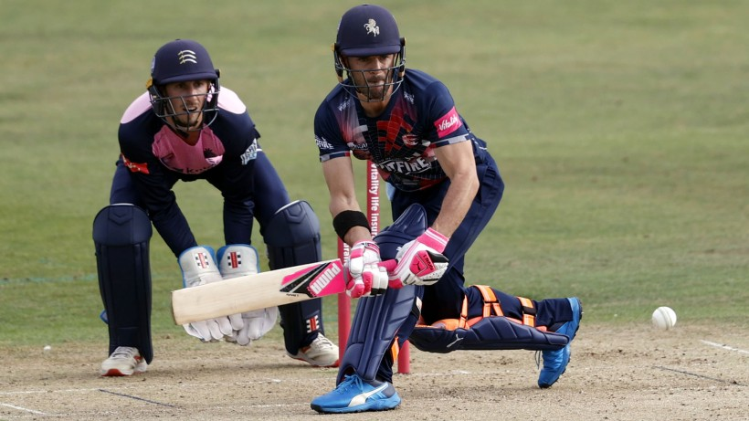 Heino Kuhn leaves Kent Cricket