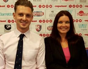 Matt Hunn gains experience in commercial team