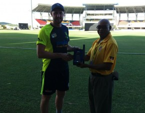 Battling Blake and bowlers see off Jamaica