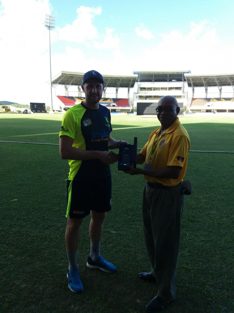 Battling Blake and bowlers see off Jamaica