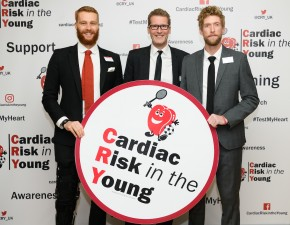 Thomas and Haggett named as official Ambassadors for Cardiac Risk In The Young