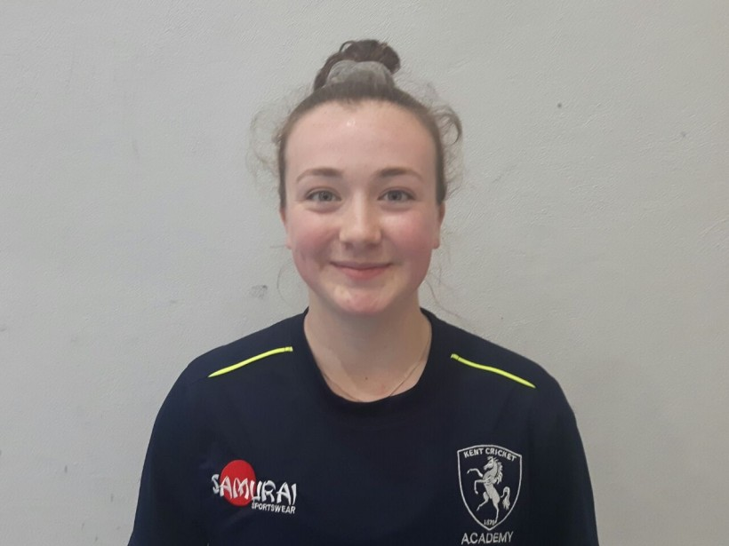 Cloke on England Women's Academy tour