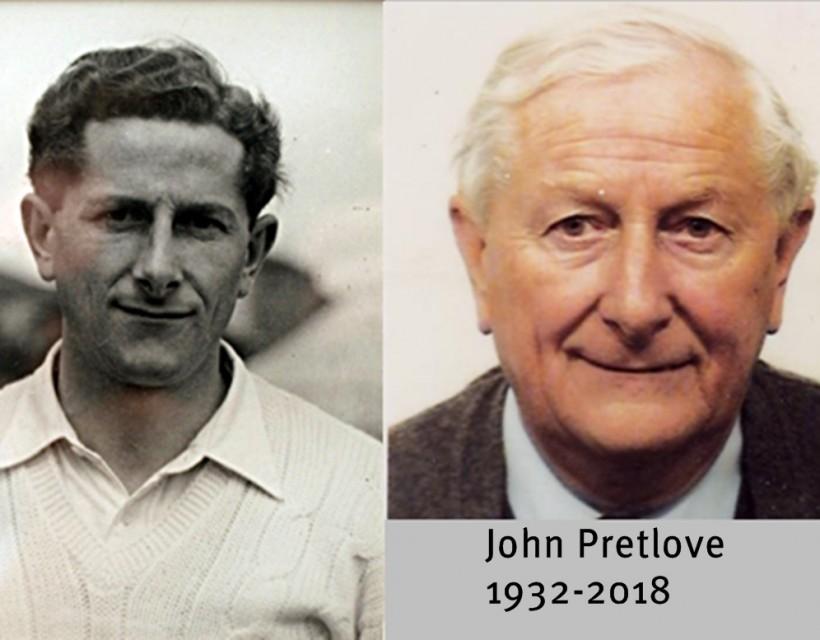 Former President and player John Pretlove dies