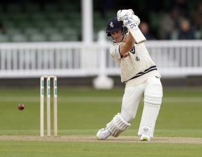 Denly leads Kent to strong postion