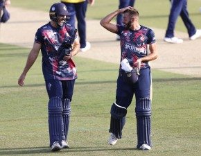 Kent qualify for Quarter Finals